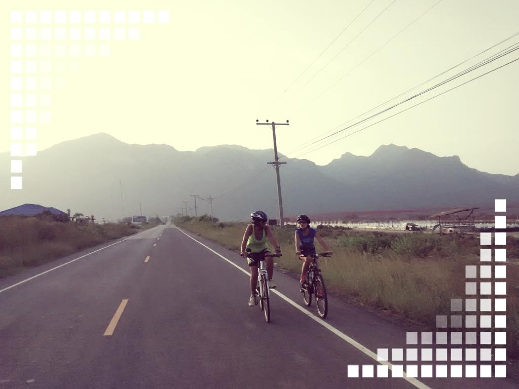 Sam Roi yot, Thailand bike trip